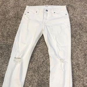 Hudson jeans size 27 white